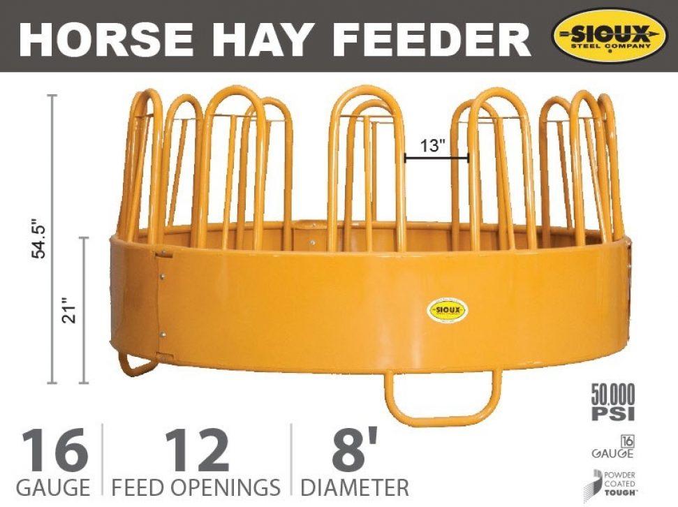 Horse Hay Feeder Features