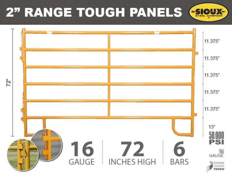"""2"""" Range Tough Panels"""