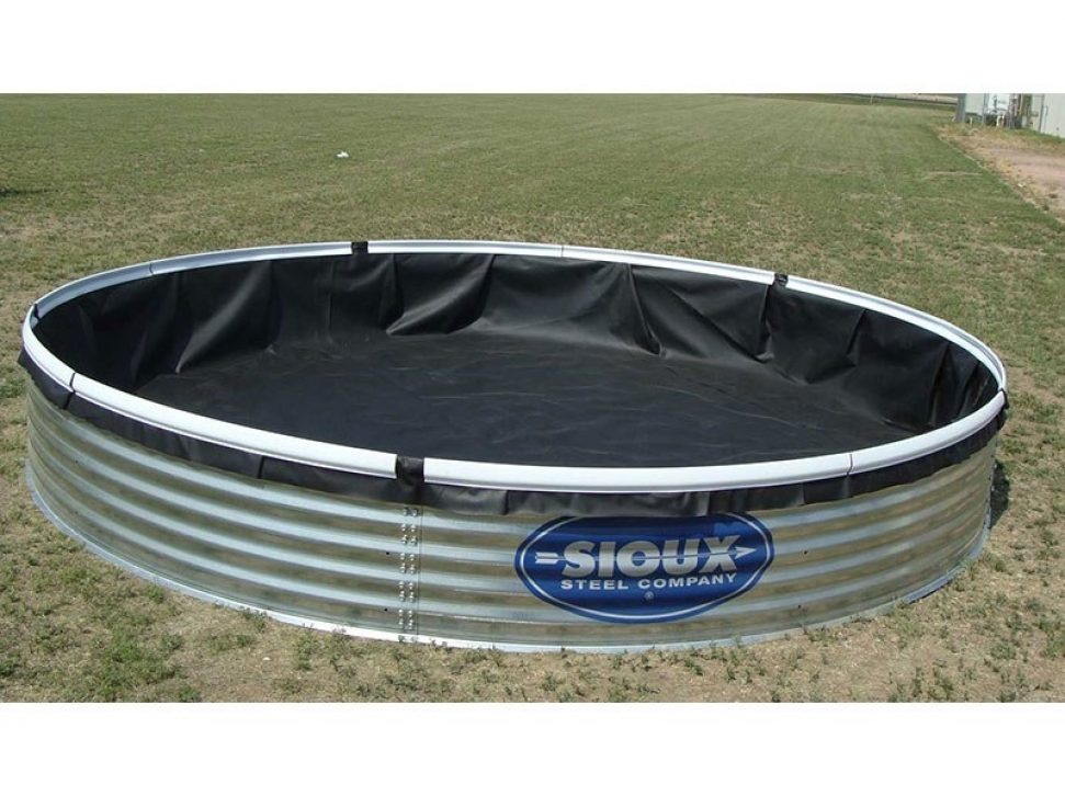 Bottomless Water Tank In Use