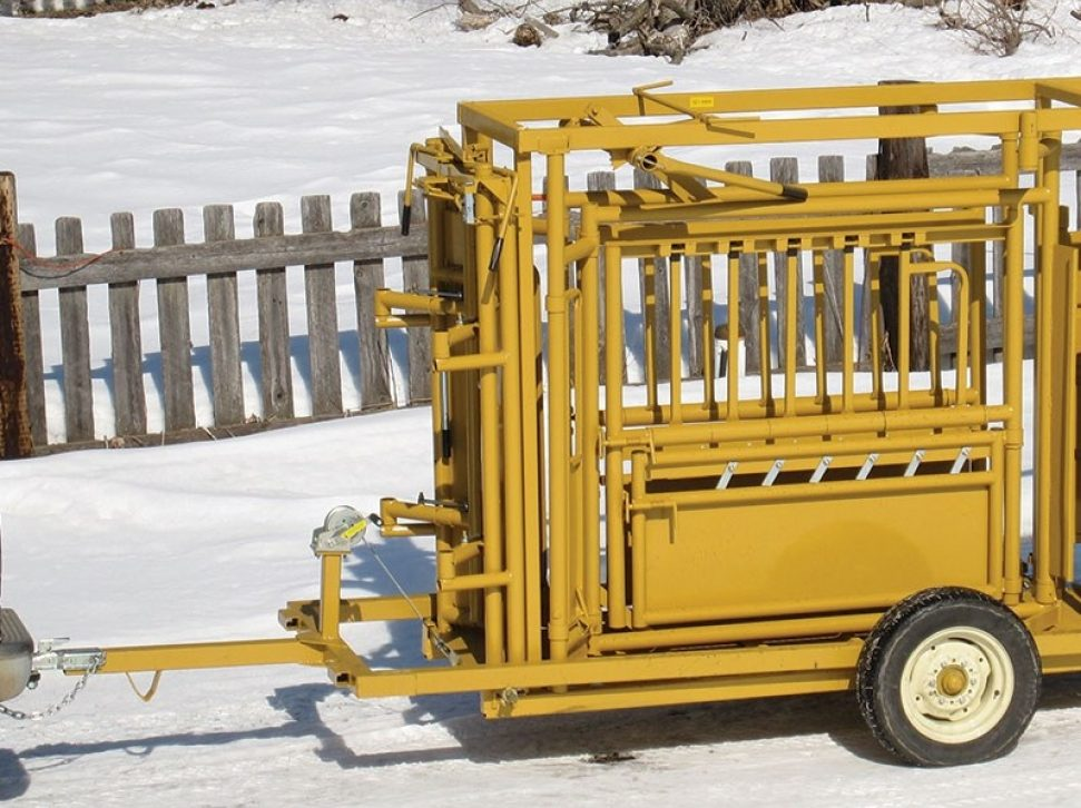 Squeeze Chute Cart