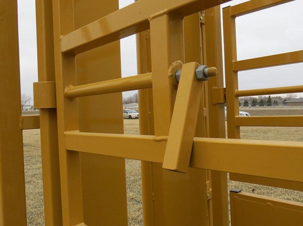 Utility Chute Side Door Lever